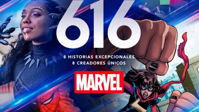 Marvel's 616: tráiler de la serie documental sobre el universo creativo de  Marvel - MeriStation