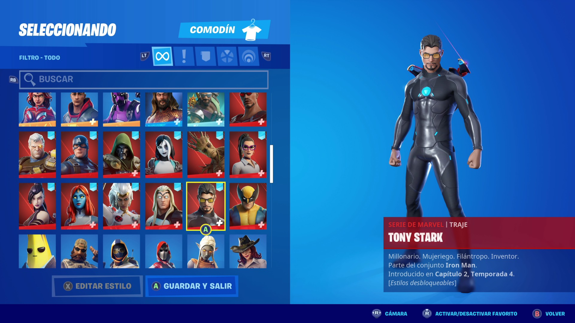 Carbide Iron Man Fortnite Fortnite Temporada 4 Guia De Desafios Del Despertar De Tony Stark Iron Man Meristation
