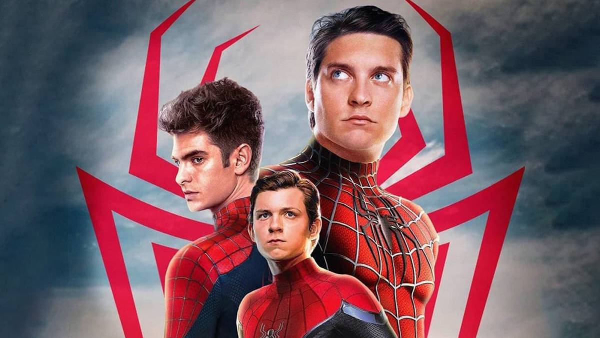 Spider-Man: No Way Home, con Tobey Maguire, Andrew Garfield y Tom Holland