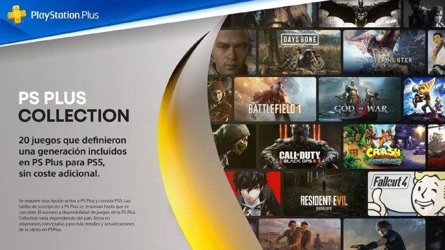 PS Plus Collection en PS5; todos los juegos, precio y cómo funciona -  MeriStation