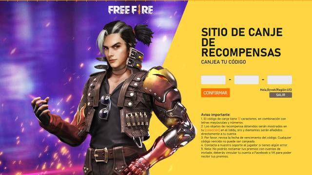 Free Fire: todos los códigos de recompensa gratis y cómo canjearlos (mayo  2021) - MeriStation
