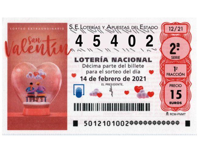 Sorteo Extraordinario De San Valentín De Lotería Comprobar Online Mejores Apps Y Webs As Com