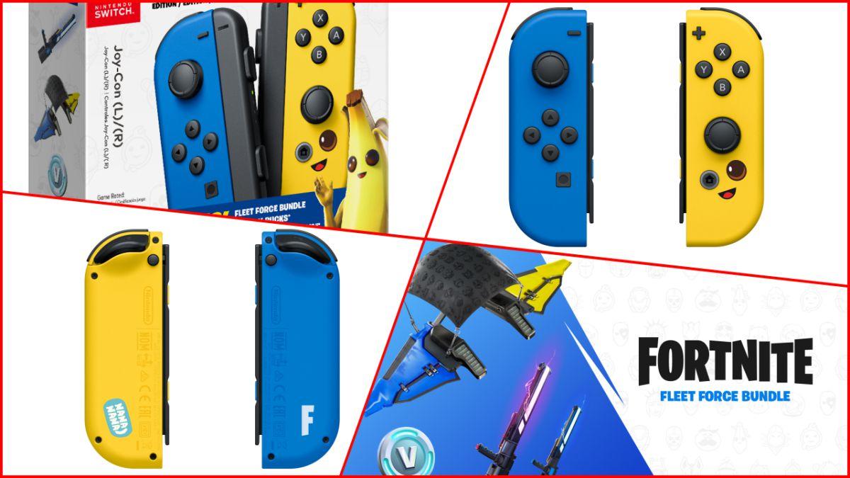Qjb Fortnite Nintendo Switch Anunciados Los Joy Con Edicion Fortnite Para Nintendo Switch Fecha Y Contenidos Meristation