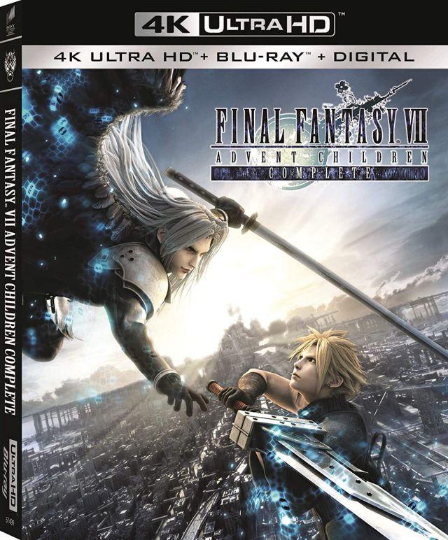 Final Fantasy VII: Advent Children anuncia una nueva edición 4K Ultra HD -  MeriStation