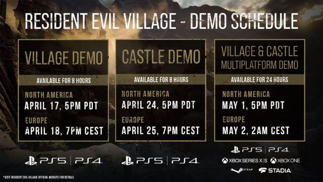 Resident Evil 8 Village confirma una segunda demo limitada: fecha, duración  y contenido - MeriStation