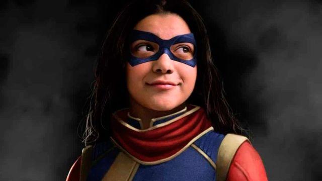 Primeras imágenes de Ms. Marvel con el traje en el set de rodaje de la serie  de Marvel Studios - MeriStation