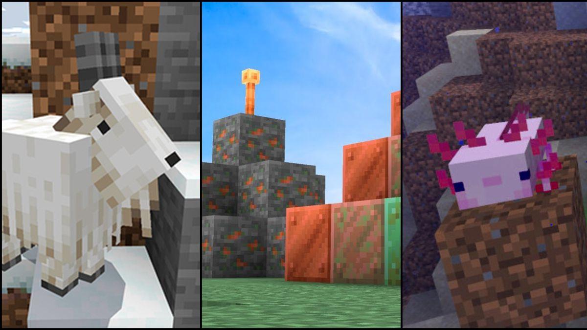Minecraft 1.17: Caves & Cliff (parte 1); todos los cambios y novedades, ya disponible - MeriStation