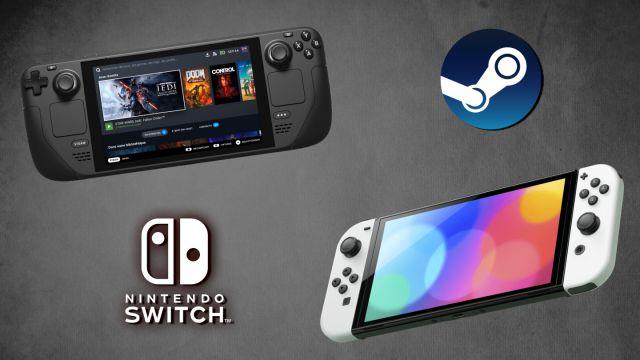 Steam Deck vs Nintendo Switch OLED: comparativa, diferencias y similitudes - MeriStation