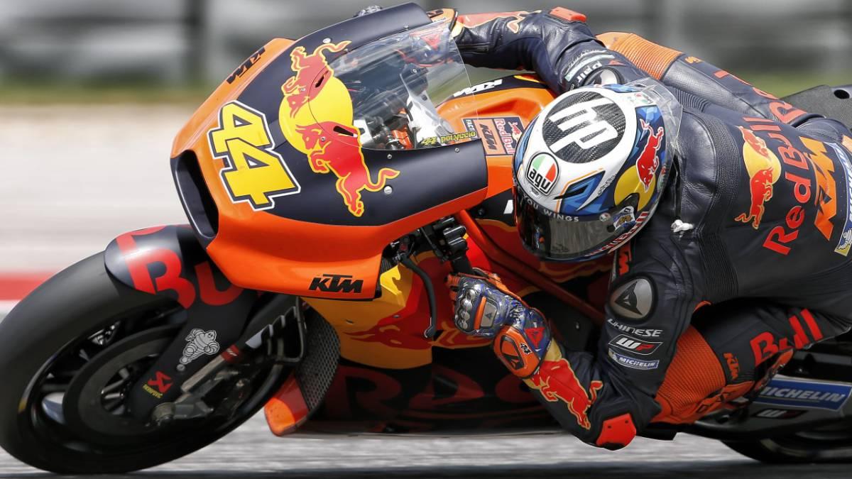 MotoGP : Pol Espargaró bendice el nuevo carenado de la KTM - AS.com