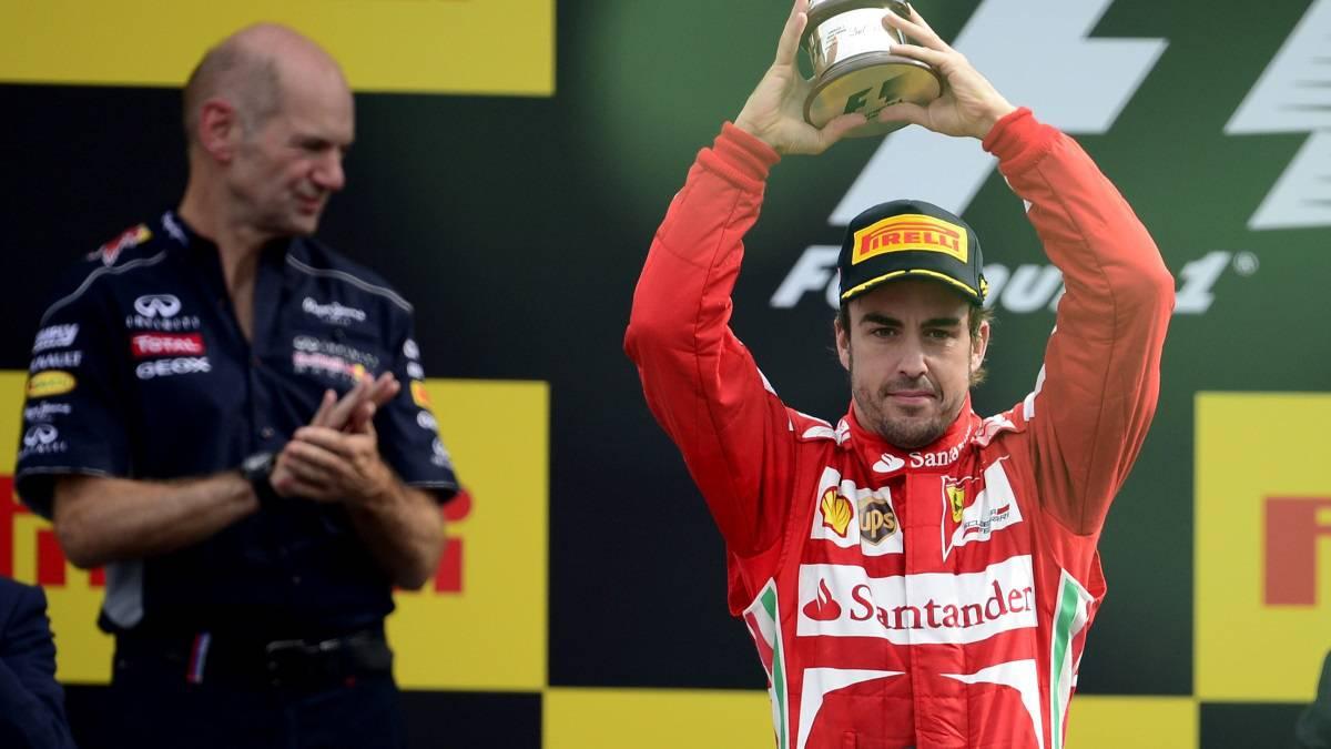 Resultado de imagen de Adrian Newey Fernando Alonso
