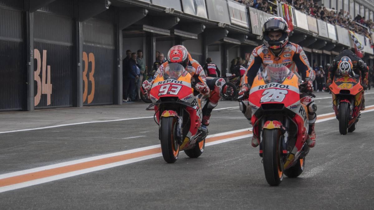 violencia Espacio cibernético Innecesario  GP de Valencia MotoGP: horarios, TV y dónde ver online la carrera - AS.com