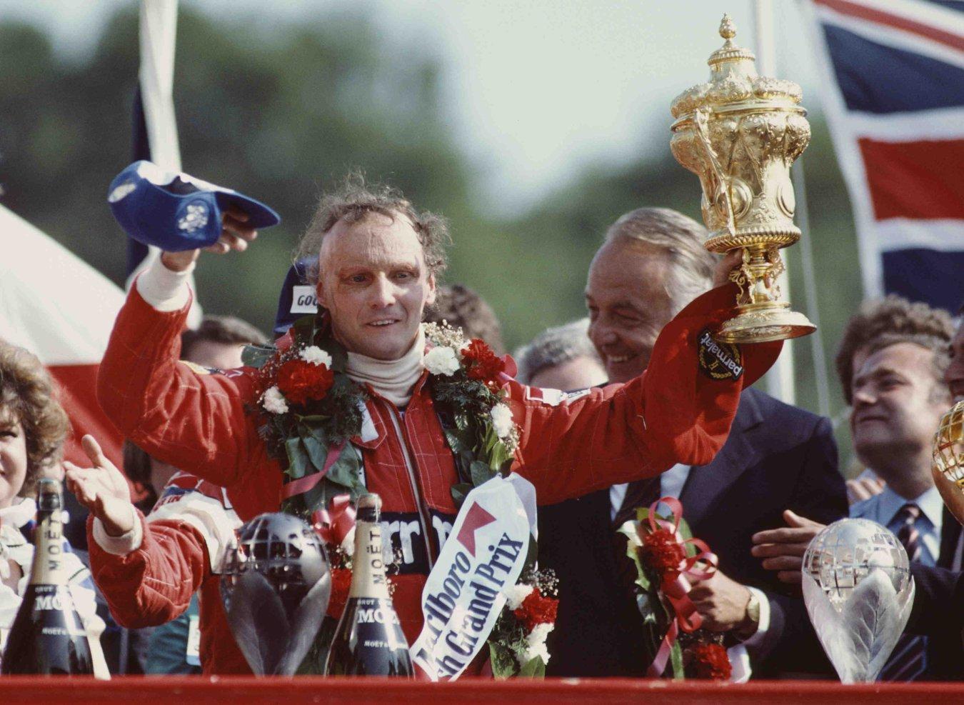 La carrera de Niki Lauda en imágenes