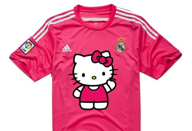 Irina Shayk, Homer Simpson & Hello Kitty lead the best memes & jokes on Real Madrids new away kit [Pictures]