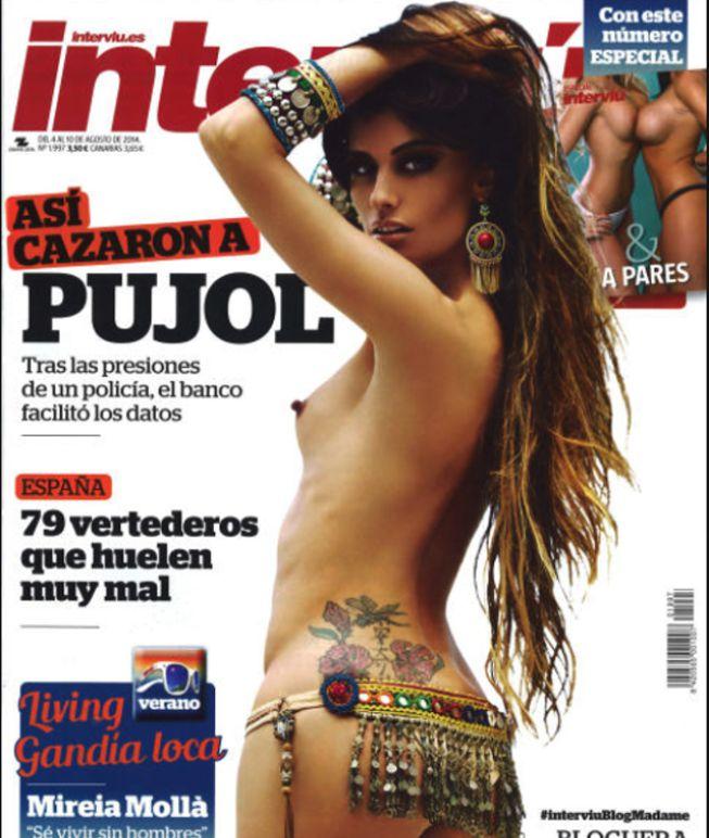 La Bloguera De Moda Madame De Rosa Se Desnuda En Interviú Ascom