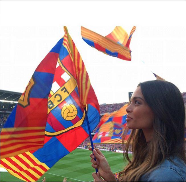 Хороший профиль картина Жоана Санс в Barca игры.  (Фото: Instagram)