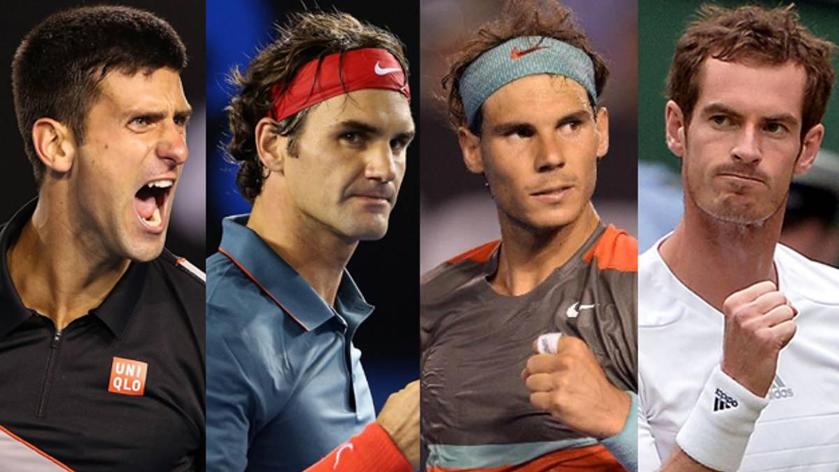 Los viejos rockeros del tenis, en la cima