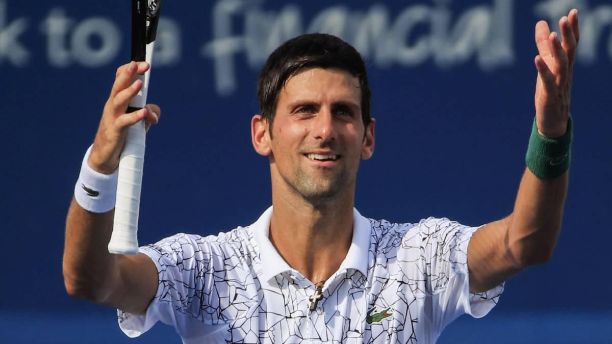 Resumen Y Resultado Del Djokovic Federer Djokovic Hizo Historia En Cincinnati As Com