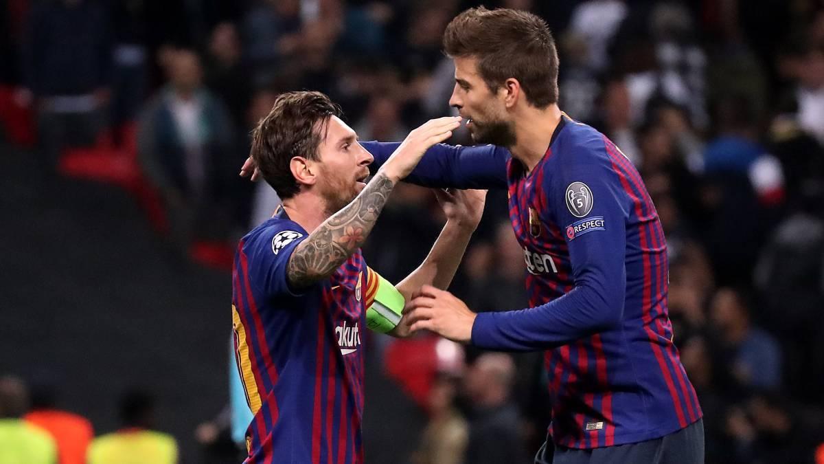 """Piqué: """"Messi es fan del tenis, parte de Kosmos y de la Davis"""" - AS.com"""
