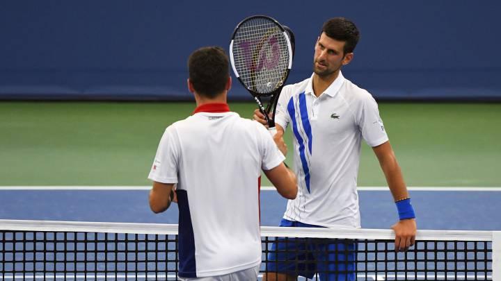 Masters 1 000 Cincinnati Novak Djokovic No Se Como Gane El Partido Ante Bautista As Com
