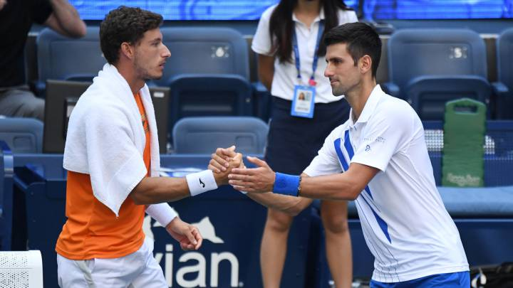 Us Open Carreno Y La Expulsion De Djokovic Las Reglas Son Las Reglas Hicieron Lo Correcto As Com