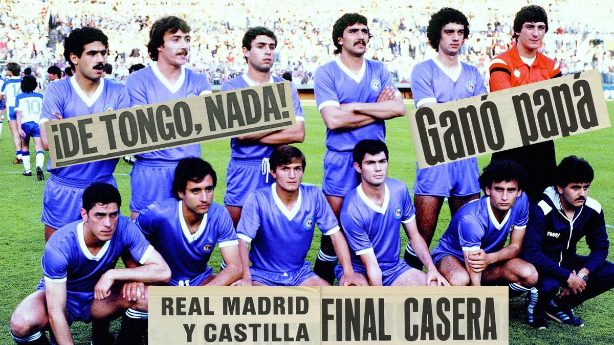 Vídeo Con El Castilla Que Revolucionó La Copa 37 Años De Una Final única As Com