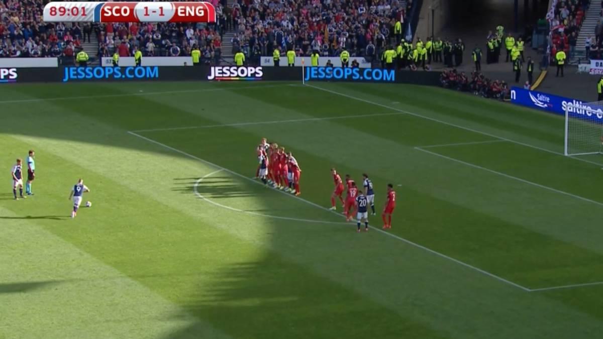 Video | ¡Histórico! Griffiths marcó dos goles de tiro libre en 3 ...