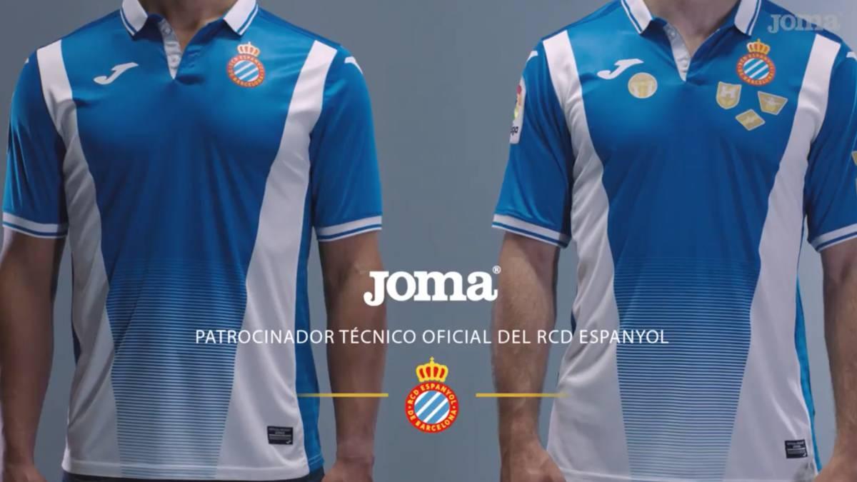 Se presentan las nuevas camisetas del Espanyol - AS.com e995b55ba86fa