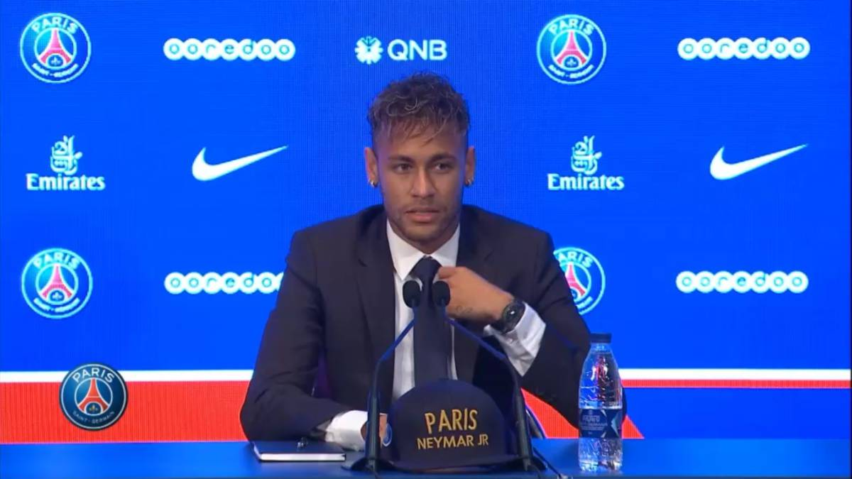 Neymar La Ambiciã³n Del Psg Es Como La Mãa Por Eso Estoy Aquã