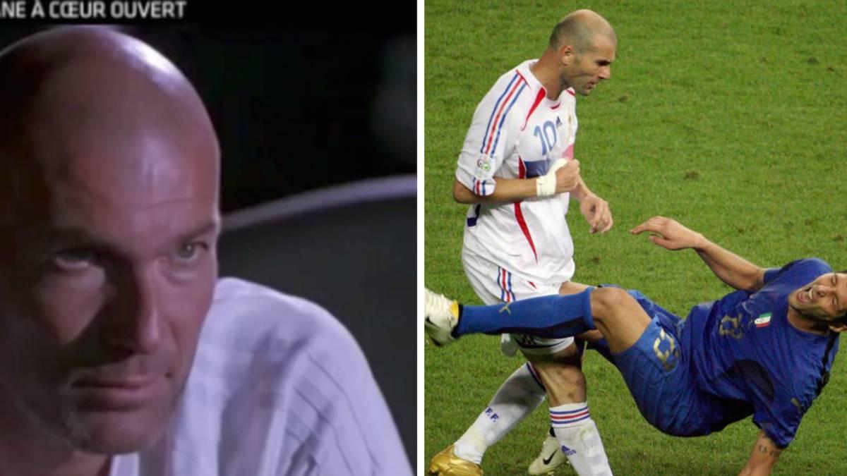 Video: Zidane looks back at Materazzi headbutt incident: