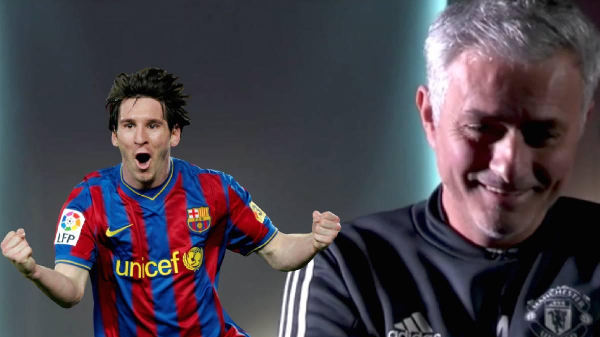 El hijo de Mourinho predijo el triunfo de su padre ante Messi