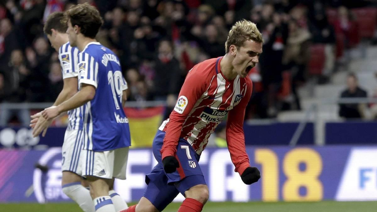 Sólo el Atlético vence en la cabeza tras los empates del Madrid y el Barça y las derrotas de Valencia y Villarreal.