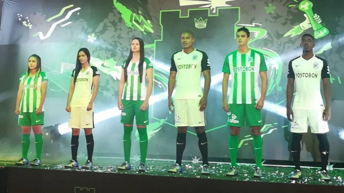 a26f39e75 Esta es la nueva camiseta de Atlético Nacional para 2018. El club verde ...