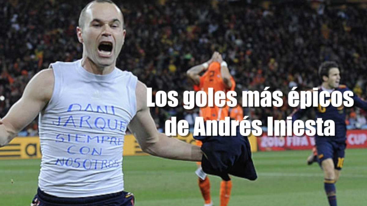 Vídeo  Así se narraron los 3 goles míticos de Iniesta - AS.com 1c3690271d0