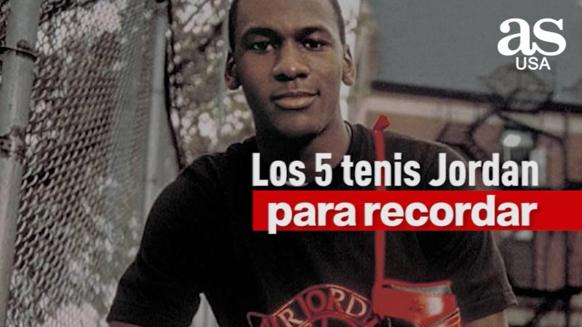 Suburbio nacimiento Recuerdo  VIDEO | Los 5 tenis Jordan para recordar - AS.com