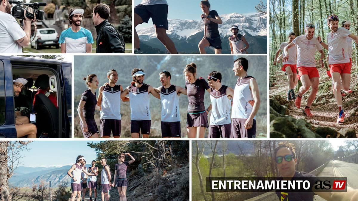 acheter populaire 0d1ee 92385 De trail con el Salomon Team: los cracks que saltan montañas
