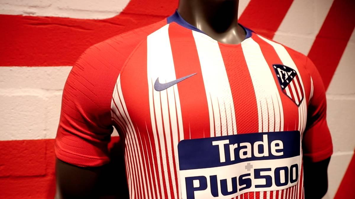 1d115bdf69b86 El vídeo que presenta la nueva camiseta del Atlético de Madrid - AS.com