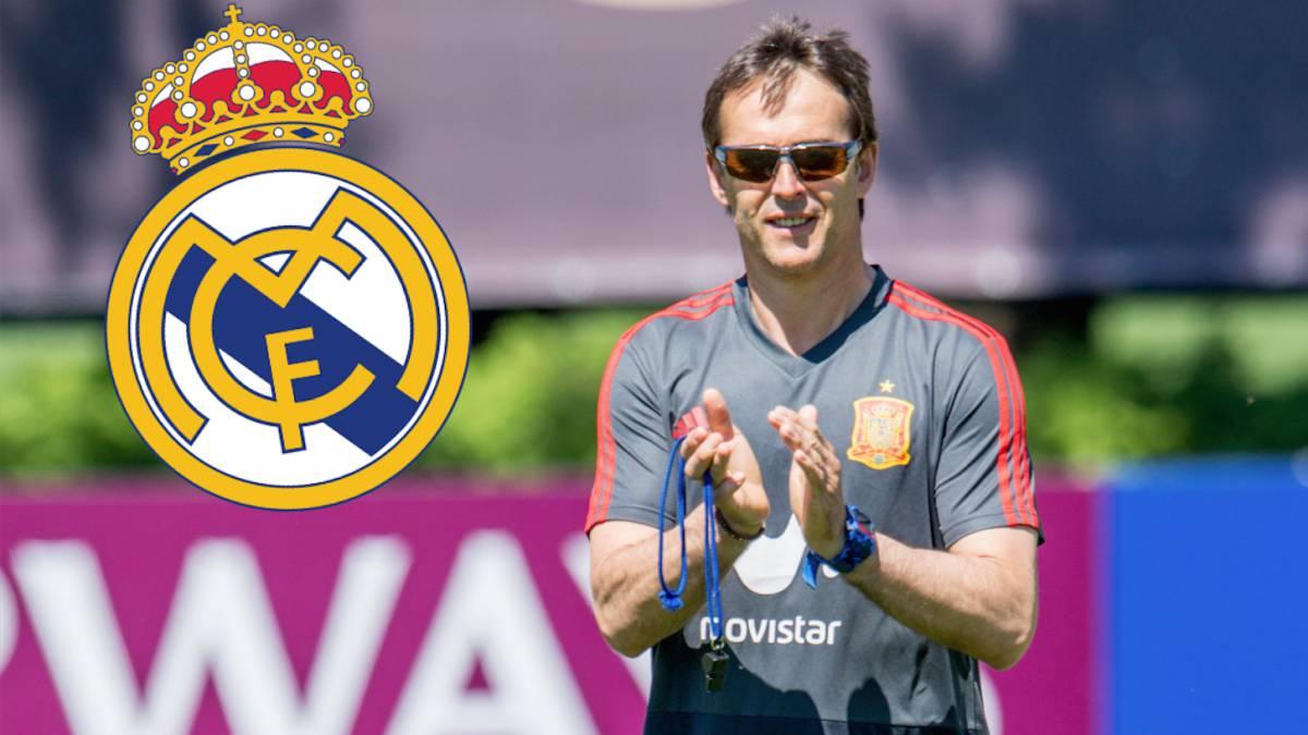891d9e4aba Vídeo   Julen Lopetegui, nuevo entrenador del Real Madrid - AS.com
