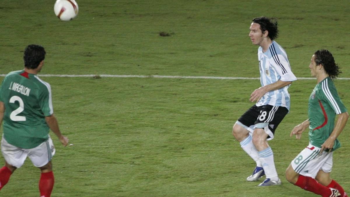 5aa95393a6ed Vídeo: Los 5 mejores goles de Messi con Argentina: para verlos mil ...