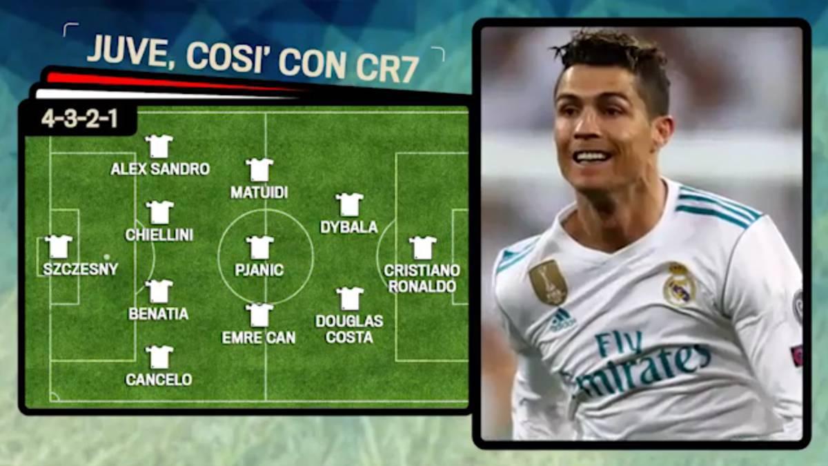 La Gazzetta  propone el XI de la Juventus con Cristiano Ronaldo - AS.com 63d7b146d658b
