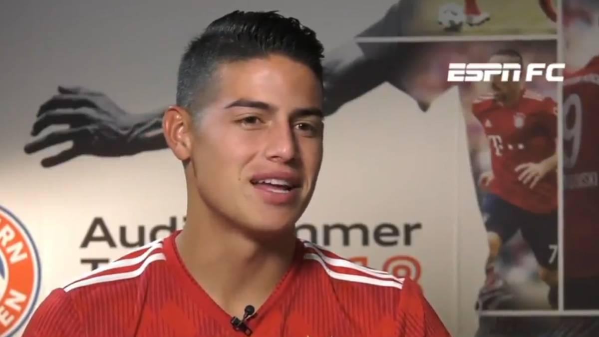 Vídeo  Le preguntan a James por el arbitraje contra el Madrid  su  respuesta 6d60dffa357be